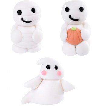 3 Fantôme-momies en sucre