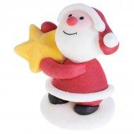 1 Père Noël Cadeaux 3D en sucre