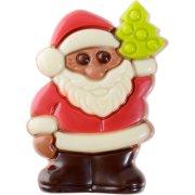 1 Palet Père Noël en Chocolat au Lait (6 cm)