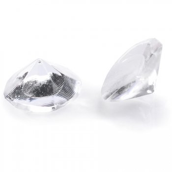 20 Mini Diamants Crystal (1 cm) - Gélatine