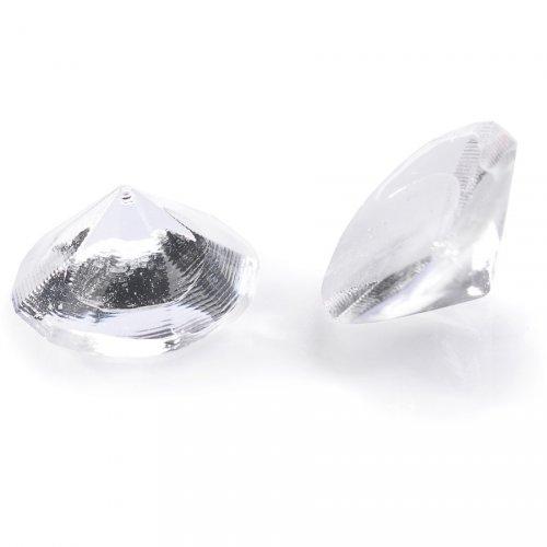 20 Mini Diamants Crystal (1 cm) - Gélatine