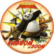Disque en Azyme Kung Fu Panda (21 cm)