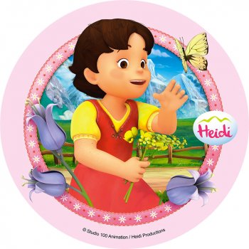 Disque en Sucre Heidi (21 cm)