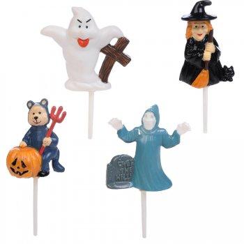 4 Pics Halloween 3D - Plastique