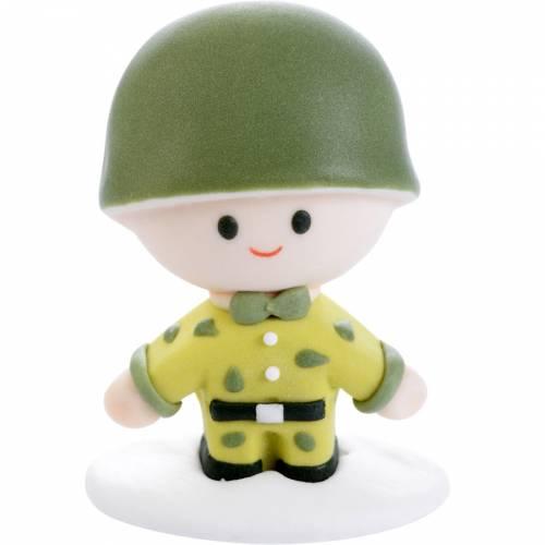 Figurine 3D Militaire (6 cm) - Sucre