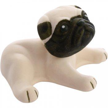 1 Figurine Chien 3D (4,5 cm) - Sucre