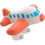 1 Avion de Tourisme 3D (5,5 cm) -  Sucre