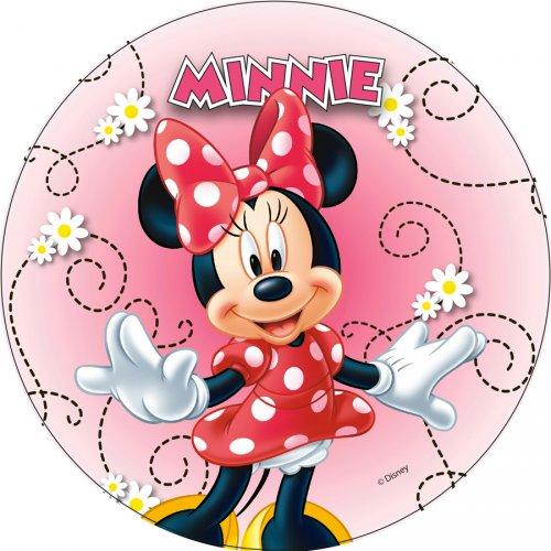 1 Disque en Azyme Minnie (21 cm)