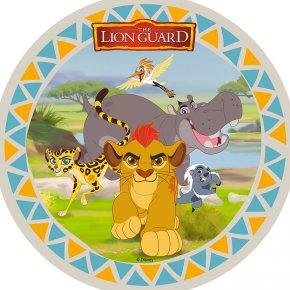 Disques Décors Sucre Et Azyme Le Roi Lion Pour Lanniversaire De