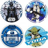 1 Disque Star Wars (21 cm) - Azyme