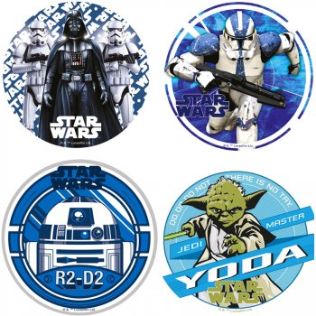1 Disque Star Wars (21 cm) - Azyme