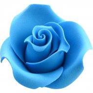 1 Rose Bleue 3D (4 cm)