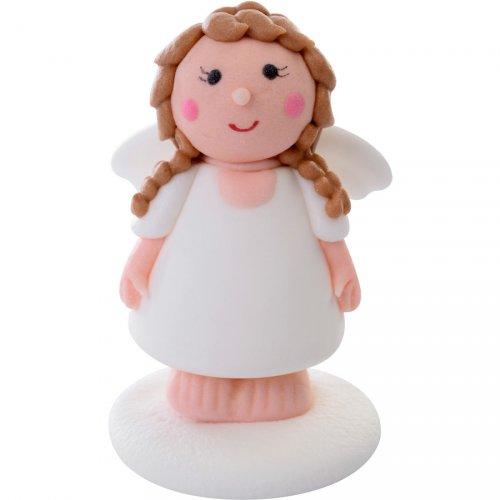 1 Figurine Ange fille (6 cm) - Sucre