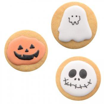 3 Biscuits Décors Halloween (6 cm)