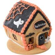 Maisonnette Biscuit Halloween (8 cm) - Noir