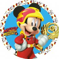 1 Disque Mickey Roadster (21 cm) - Azyme