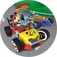 1 Disque Mickey Donald Roadster (21 cm) - Azyme