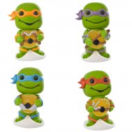 2 Figurines Tortues Ninja (5,5 cm) - Sucre