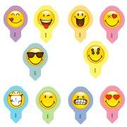 10 Pastilles Smiley (5 cm) - Azyme