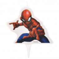 1 Bougie Spiderman (9 cm)