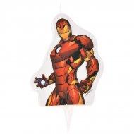 1 Bougie Iron Man (9 cm)