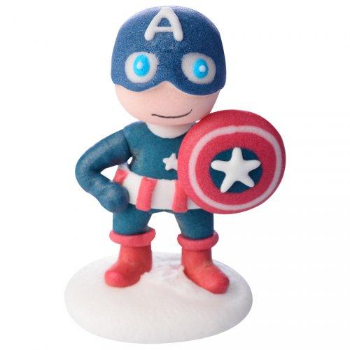 Figurine Captain America (6 cm) - Sucre