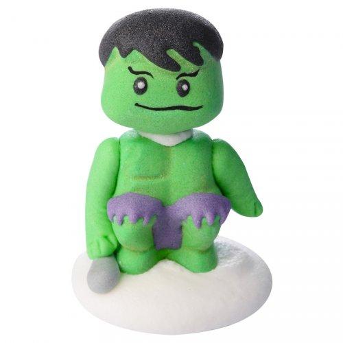 Figurine Hulk (5 cm) - Sucre