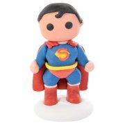 Figurine Superman 3D (6,5 cm) - Sucre