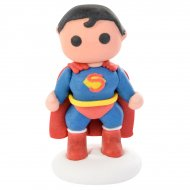 Figurine Superman 3D (6,5 cm) - Sucre