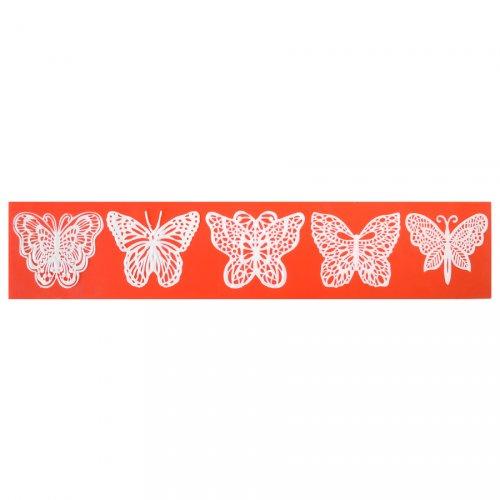 Moule à Empreinte 5 Papillons - Silicone
