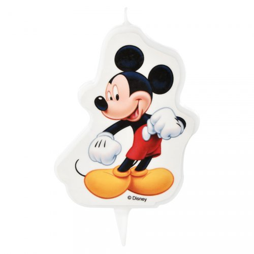 1 Bougie Mickey Classic (9 cm)