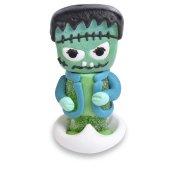 1 Squelette + 1 Monstre Halloween (5 cm) - Sucre