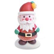 2 Pères Noël Gentil (6 cm) - Sucre
