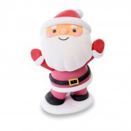 1 Figurine Père Noël souriant (6,5 cm) - Sucre