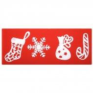 Moule Empreintes Motifs Noël Dentelles (15 cm) - Silicone