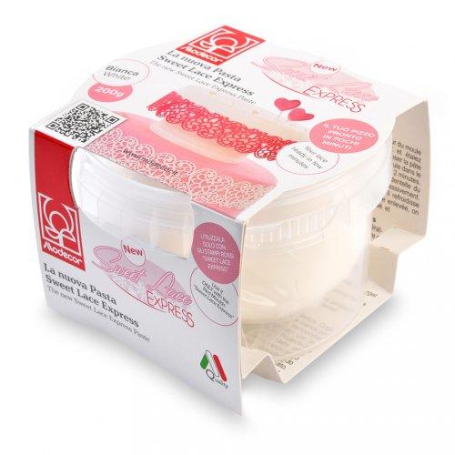 Pâte Sweet Lace Express (200 g) pour Dentelles de Sucre