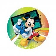 Disque Mickey Jeu Vidéo (18,5 cm) - Sans sucre/gluten/palme
