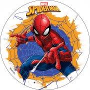 Disque Spiderman (18,5 cm) - Sans sucre/gluten/palme