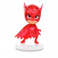 Figurine Pyjamasques Bibou Rouge (6,5 cm) - Socle amovible
