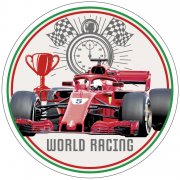 Disque Formule 1 World Racing (21cm) - Azyme