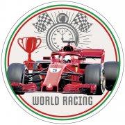 Disque Formule 1 World Racing (21cm) - Azyme