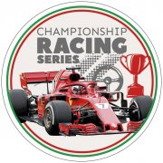 Disque Formule 1 Racing Champion (21cm) - Azyme