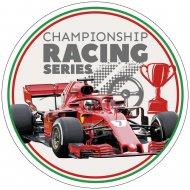 Disque Formule 1 Racing Champion (21cm) - Azyme