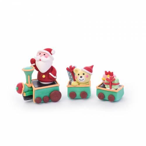 Train Père Noël - Sucre