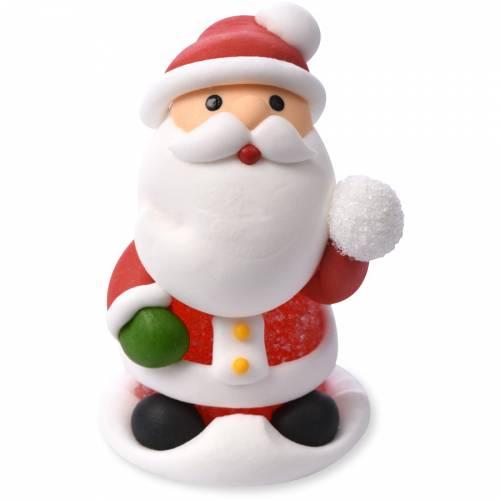 Père Noël - Gélatine/Sucre (6 cm)