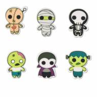 6 Figurines Halloween (3 cm) - Sucre