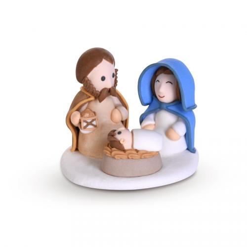 1 Décor Sainte Famille -  Sucre