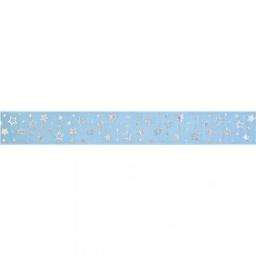 Ruban de Gâteau Petites Etoiles Bleu (4 cm - 1 m)