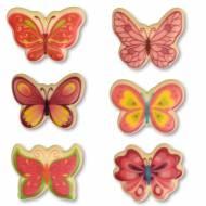 6 Petits Papillons - Chocolat Blanc
