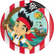 8 Assiettes Jake le Pirate